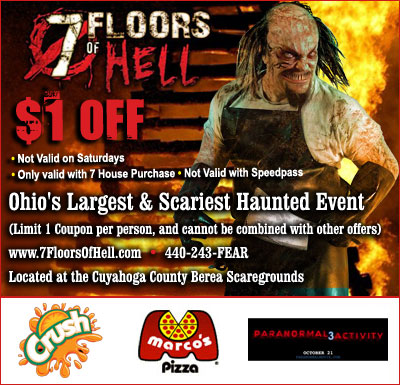 7 Floors Of Hell Cleveland Ohio S Biggest And Best Haunted House
